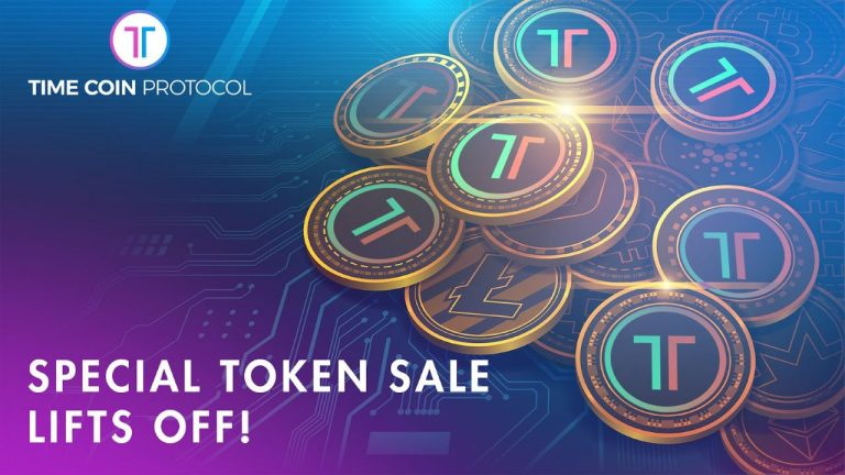 TimeCoin's Special Token Sale