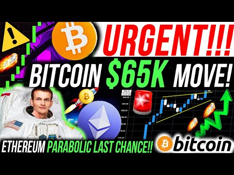 URGENT!!🚨BITCOIN $65K MOVE! ETHEREUM IS GOING PARABOLIC!! PAYPAL ACCEPT CRYPTO!! 10X ALTCOINS 2021!!