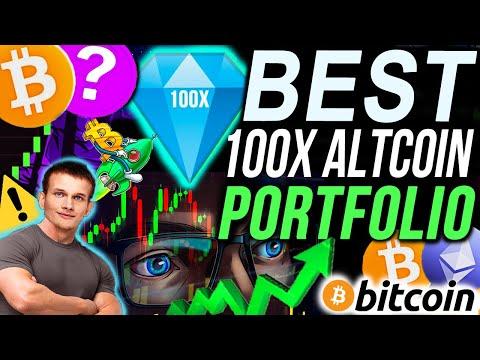 The BEST $10,000 Altcoin Portfolio TO MAKE MILLIONS!!!