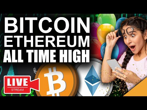 Bitcoin Tops $63k All Time High (Ethereum Best Chance at $2500)
