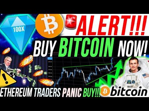ALERT!!🚨BUY BITCOIN NOW!!!! ETHEREUM TRADERS PANIC BUY FOR THIS REASON!! BITCOIN NEWS & ANALYSIS
