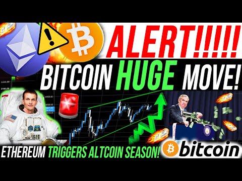 ALERT!!!🚨BITCOIN HUGE MOVE!! ETHEREUM TRIGGERS ALTCOIN SEASON!! BITCOIN NEWS & ANALYSIS!! NFT CRASH!
