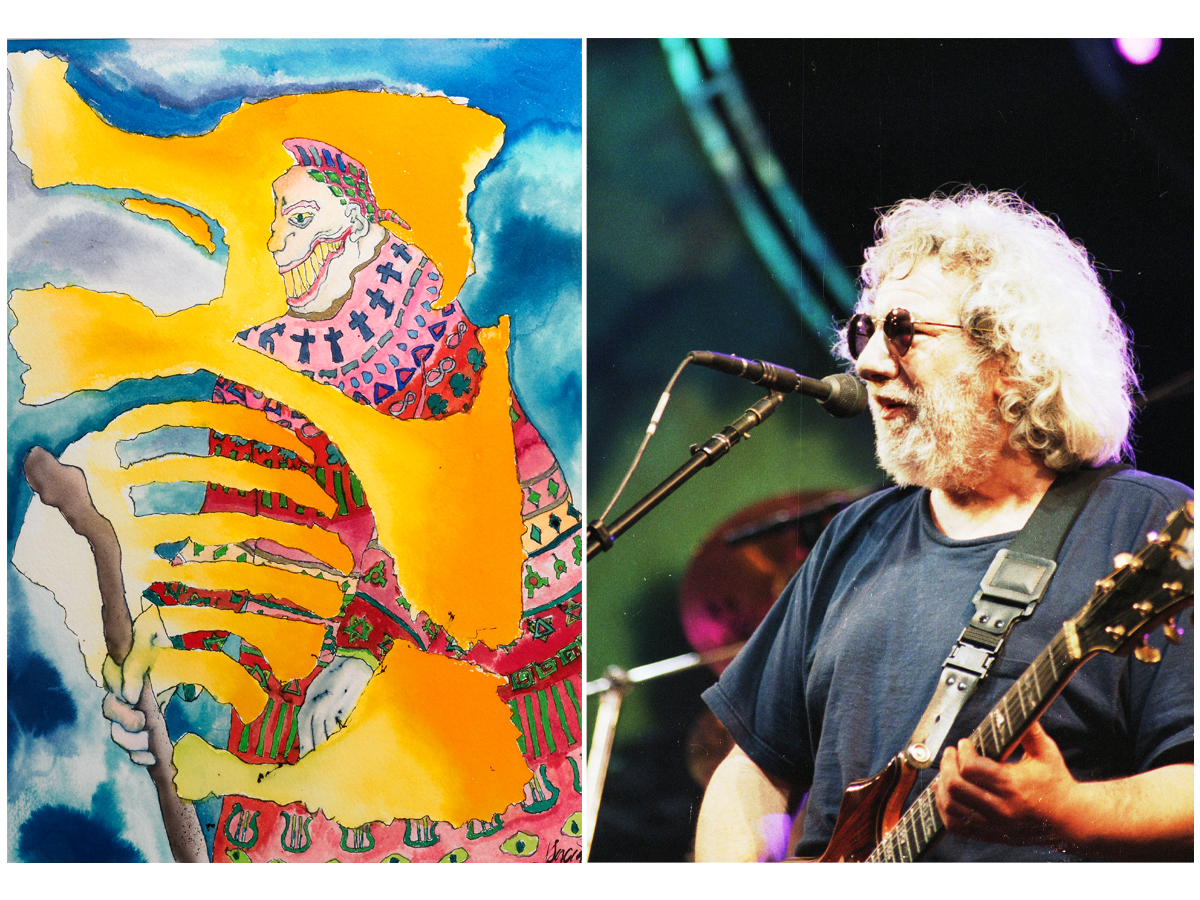 'Once in a While You Get Shown the Light'— Jerry Garcia Art to be Auctioned as an NFT for $1 Million