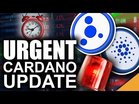 URGENT Cardano Update (ADA Ecosystem Ready to Explode)