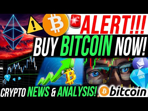 ALERT!!🚨BUY BITCOIN NOW!! BITCOIN DOMINANCE RECOVERY! MY $4M ETHEREUM TRADE! CRYPTO NEWS & ANALYSIS!