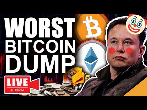 тЪая╕ПALERTЁЯЪи Elon Musk Worst Bitcoin Dump (Cardano All Time High)