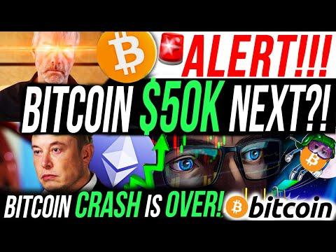 ALERT!!!🚨BITCOIN CRASH OVER?!! BITCOIN TO $50K NEXT?! MICHAEL SAYLOR BUYS THE DIP!!!! CRYPTO NEWS!!