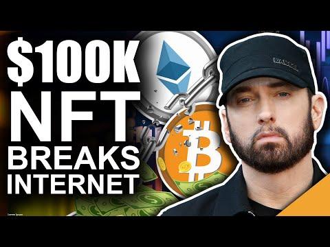 $100k Eminem NFT (BEST Rapper BREAKS Internet)