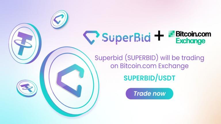 SuperBid (SUPERBID) Token Is Now Listed on Bitcoin.com Exchange