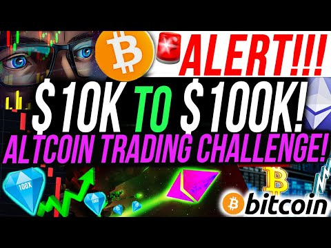 ALERT!!🚨 $10,000 to $100,000 ALTCOIN TRADING CHALLENGE!!!! I INVESTED IN A NEW ALTCOIN!!! PART 3