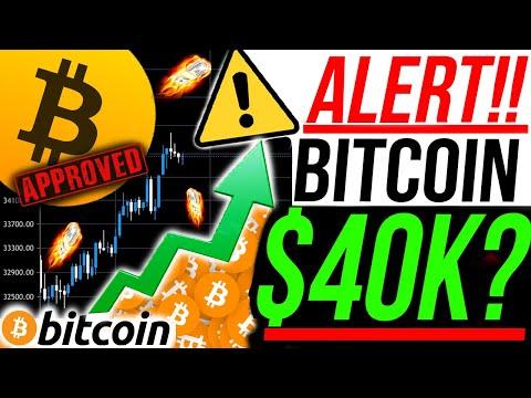 ALERT!! 🚨BITCOIN $40k MOVE NOW!!?! DO NOT SLEEP ON THIS!! BITCOIN NEWS & ANALYSIS!!